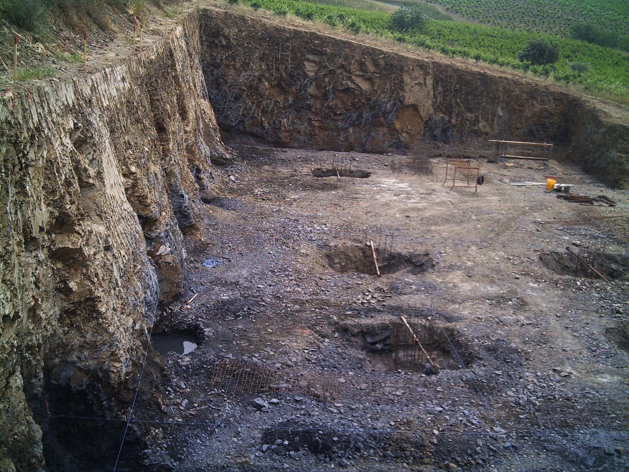 Construction dune cave à vin